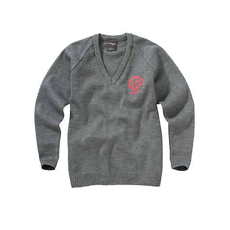 Buy Thornton College Girls' Pullover, Grey Online at johnlewis.com