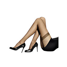 Buy Wolford Individual 10 Denier Hold-Ups Gobi, Brown Online at johnlewis.com