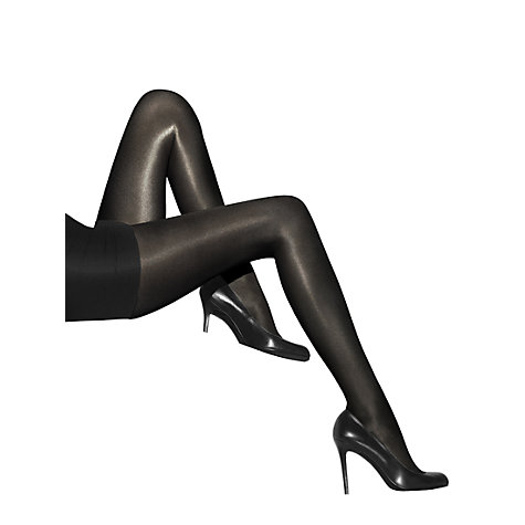 Buy Wolford Neon Tights, Black Online at johnlewis.com