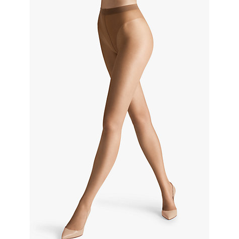 Buy Wolford Luxe 9 Denier Tights, Sand Online at johnlewis.com