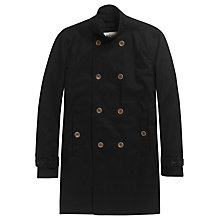 Buy Plectrum by Ben Sherman Twill Coat, Navy Online at johnlewis.com