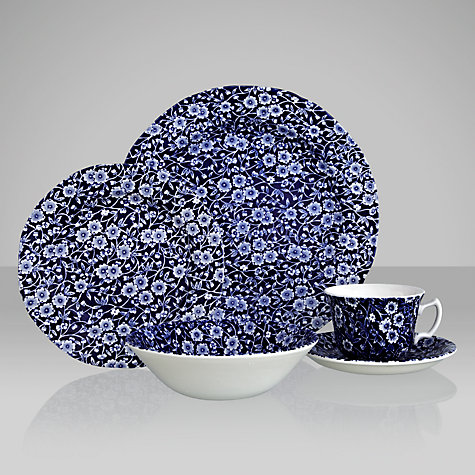 Buy Burleigh Calico Blue Tableware Online at johnlewis.com