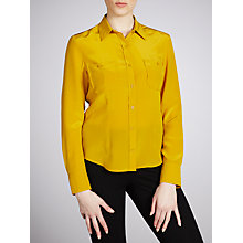 Buy Weekend by MaxMara Bebbio Shirt, Yellow Online at johnlewis.com