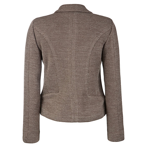 Buy Weekend by MaxMara Bilbao Wool Jacket, Mud Online at johnlewis.com