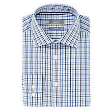 Buy John Lewis XS Sleeves Non-Iron Multi Gingham Shirt, Blue Online at johnlewis.com