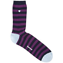 Buy Barbour Amble Stripe Socks Online at johnlewis.com