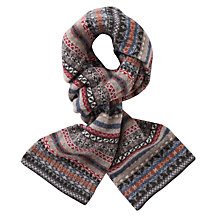 Buy Barbour Melrose Fair Isle Merino Scarf Online at johnlewis.com