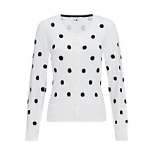 Buy COLLECTION by John Lewis Intarsia Spot Cardigan Online at johnlewis.com