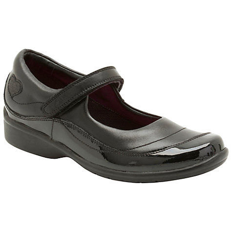 Buy Clarks Daisy Chain Shoes, Black Online at johnlewis.com