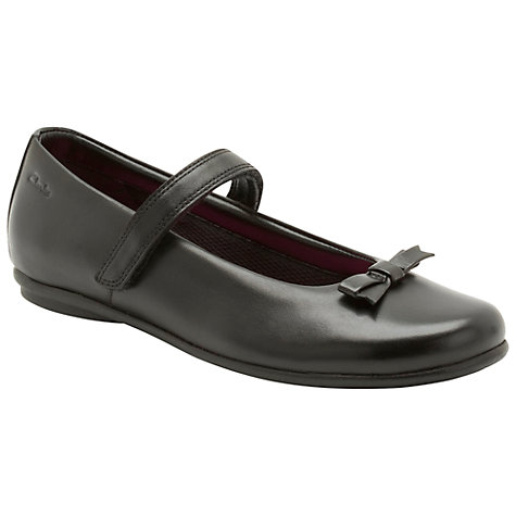 Buy Clarks Daisy Meadow Shoes, Black Online at johnlewis.com