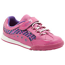 Buy Clarks Giggle Spark Trainers Online at johnlewis.com