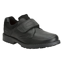 Buy Clarks Long Point Shoes, Black Online at johnlewis.com
