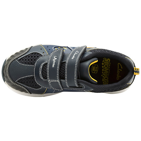 Buy Clarks Rexy Stomp Trainers, Blue Online at johnlewis.com