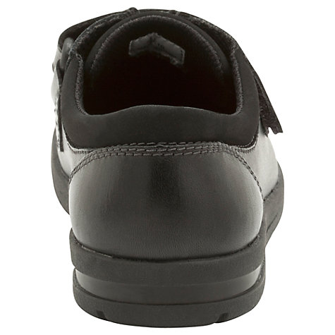 Buy Clarks SchoolRock Shoes, Black Online at johnlewis.com