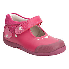 Buy Clarks Softly Sally Shoes, Berry Online at johnlewis.com
