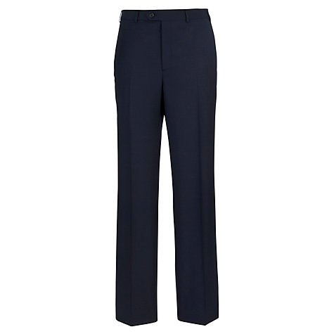 Buy Aquascutum Cameron Performance Trousers, Navy Online at johnlewis.com
