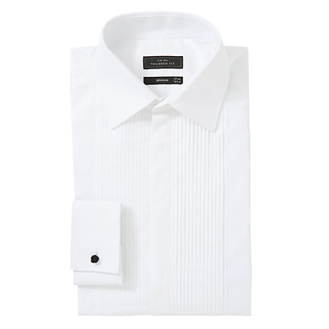 Buy John Lewis Chivas Pleat Tailored Dress Shirt Online at johnlewis.com