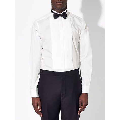 Buy John Lewis Wing Collar Tailored Dress Shirt, White Online at johnlewis.com