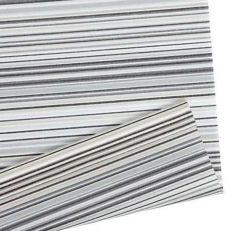 Buy John Lewis Manhattan Stripe Daylight Roller Blinds, Grey Online at johnlewis.com