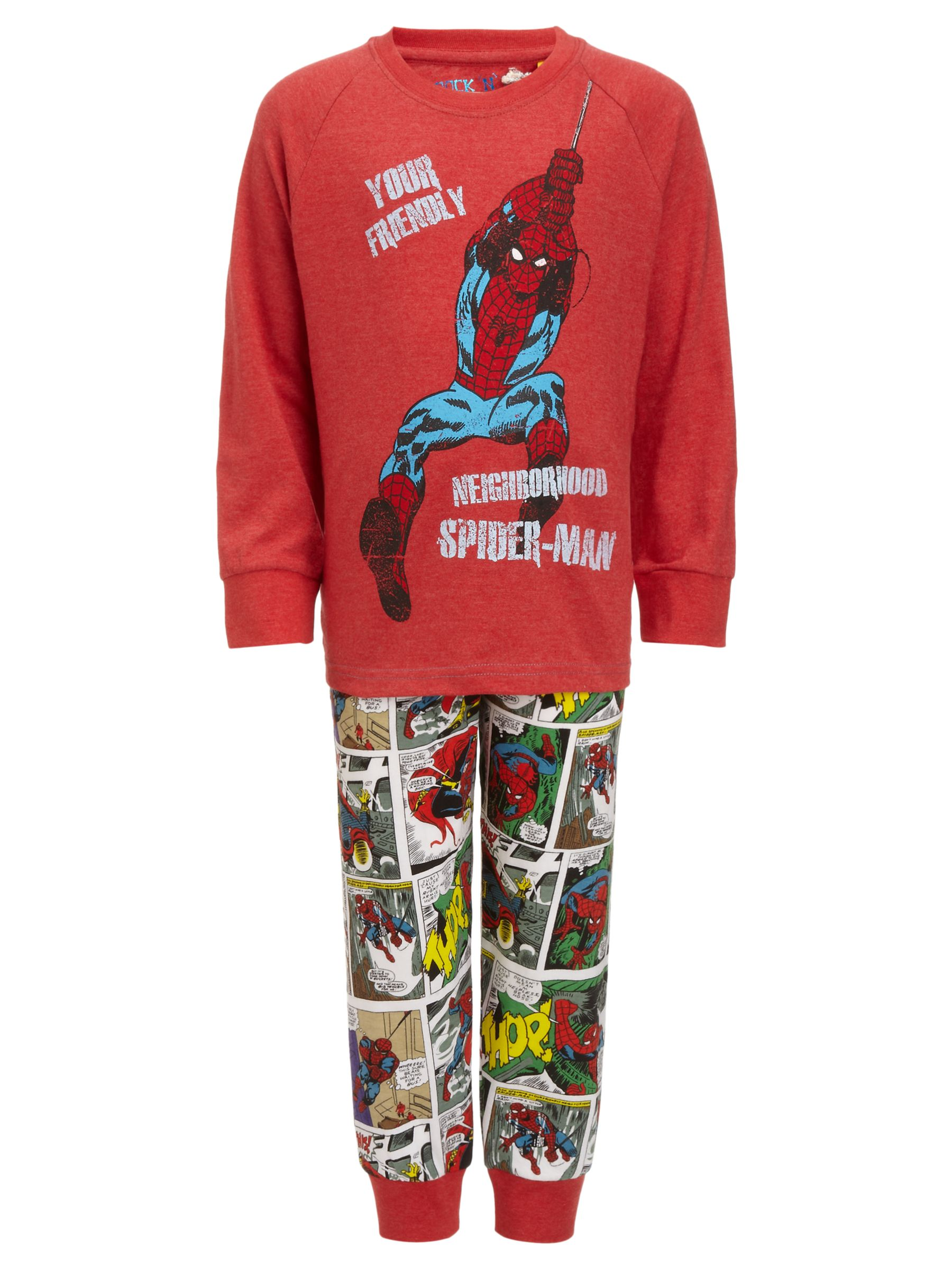Spiderman Pyjamas, Red