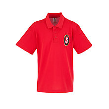 Buy St Joseph's College Prep School Polo Shirt, Red Online at johnlewis.com