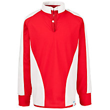 Buy The Westgate School Rugby Shirt, Red/White Online at johnlewis.com