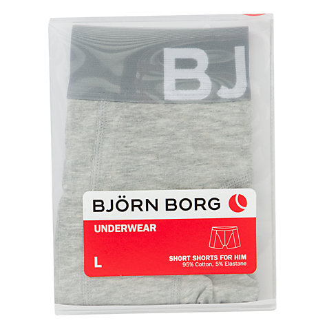 Buy Bjorn Borg Single Big Logo Trunks Online at johnlewis.com