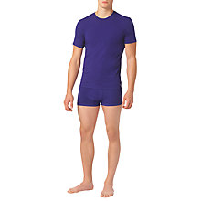 Buy Calvin Klein ck one Stretch Cotton Crew Neck T-Shirt Online at johnlewis.com