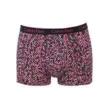 Buy Calvin Klein Underwear ck one Chevron Skin Trunk Online at johnlewis.com