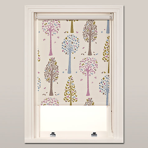 Buy little home at John Lewis Magic Trees Blackout Roller Blinds Online at johnlewis.com
