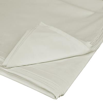 John Lewis 400 Thread Count Cotton Satin Flat Sheet