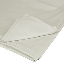 Buy John Lewis 400 Thread Count Cotton Satin Flat Sheet Online at johnlewis.com
