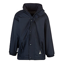 Buy School Unisex Storm Coat, Navy Online at johnlewis.com