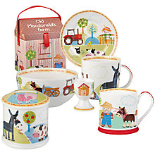 Buy Little Rhymes Old MacDonald's Farm Tableware Online at johnlewis.com