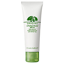 Buy Origins A Perfect World™ SPF15 Tinted Moisturizer with White Tea, 30ml Online at johnlewis.com