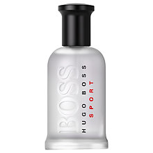 Buy Boss Bottled Sport Eau de Toilette Online at johnlewis.com