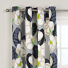 Buy Designers Guild Flamingo Park Lined Eyelet Curtains Online at johnlewis.com