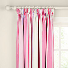 Buy John Lewis Finlay Stripe Pencil Pleat Blackout Lined Curtains Online at johnlewis.com