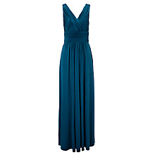 Buy John Lewis Ruched Bodice Maxi Dress Online at johnlewis.com