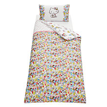 Buy Hello Kitty For Liberty Art London Town Duvet Cover Set, Multi Online at johnlewis.com