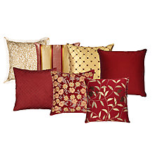 Royal Reds Cushion Collection