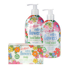 Buy Cath Kidston Retro Flowers Toiletries Online at johnlewis.com