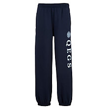 Buy Queen Elizabeth's Girls' School Joggers, Navy Online at johnlewis.com