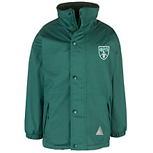 Buy Stormont School Girls' Jacket, Green Online at johnlewis.com