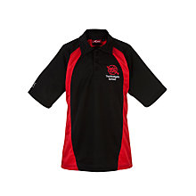 Buy The Westgate School Sports Shirt, Red/Black Online at johnlewis.com