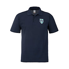 Buy Copthall School Sports Polo Shirt, Navy Online at johnlewis.com