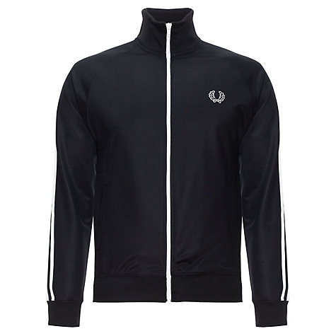 Buy Fred Perry Twin Stripe Track Jacket, Navy Online at johnlewis.com
