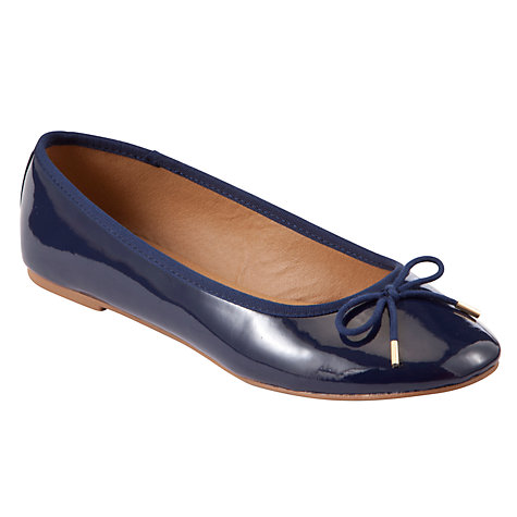 Buy John Lewis Jenni Patent Ballet Pumps Online at johnlewis.com