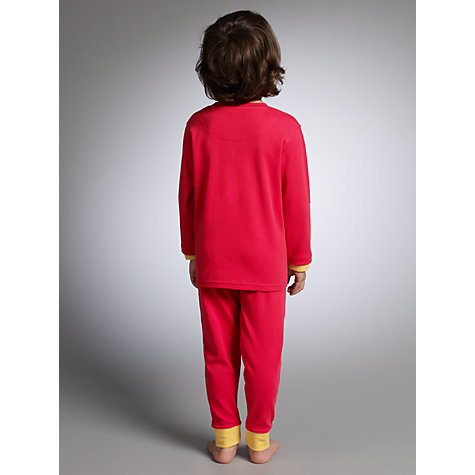 Buy John Lewis Science Museum Collection Car Pyjamas, Red Online at johnlewis.com