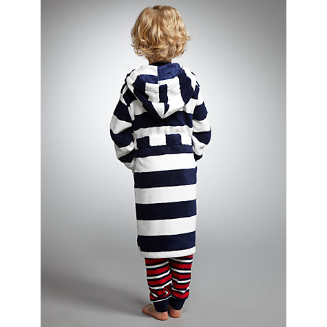 Buy John Lewis Boy Striped Robe Online at johnlewis.com